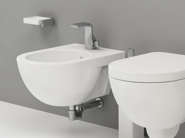 Architec Bidet Sospeso Of Bidet Sospeso In Ceramica Linea Quick By Ceramica Flaminia