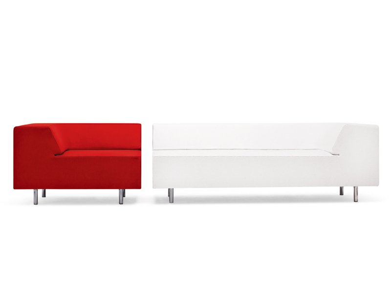 Canap avec rembourrage ignifuge easy block by offecct for Rembourrage canape cuir
