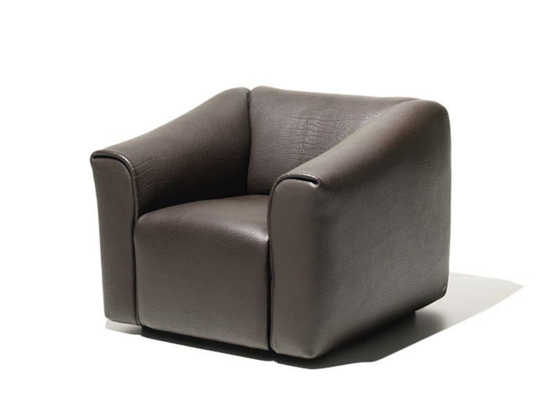 sessel aus leder kollektion ds 47 by de sede. Black Bedroom Furniture Sets. Home Design Ideas