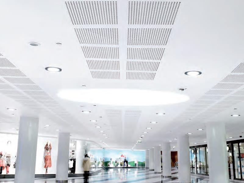 faux plafond en placo gyptone activ air by saint gobain. Black Bedroom Furniture Sets. Home Design Ideas