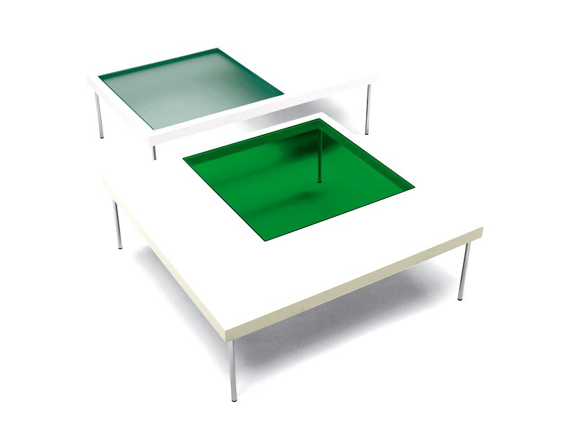 Square Mdf Coffee Table Window By Offecct Design Eero Koivisto