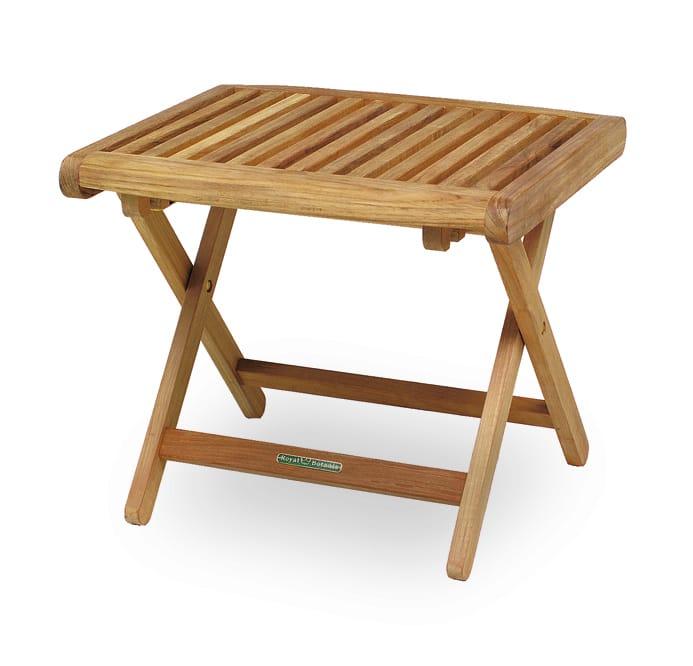 Table de jardin pliante carr e en bois del rey collection for Table jardin pliante bois