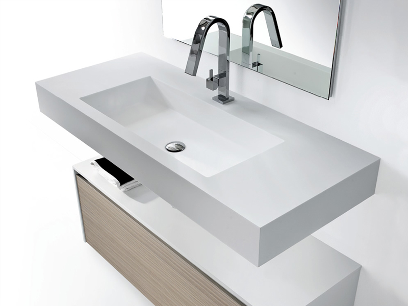 mobile bagno basso con cassetti metropolis 5 by lasa idea design enio calosi
