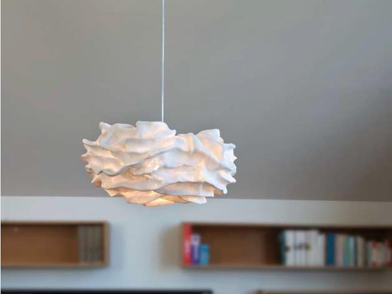 Lampada a sospensione in metallo collezione nevo by arturo for Ikea lampadario camera