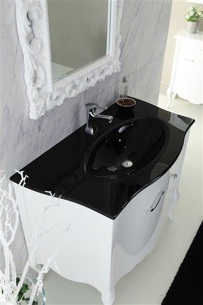 Mobile lavabo in legno narciso 1 by legnobagno - Legnobagno prezzi ...