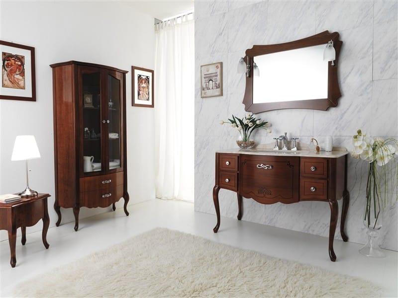 Mobile lavabo in legno NOVECENTO 1 by LEGNOBAGNO