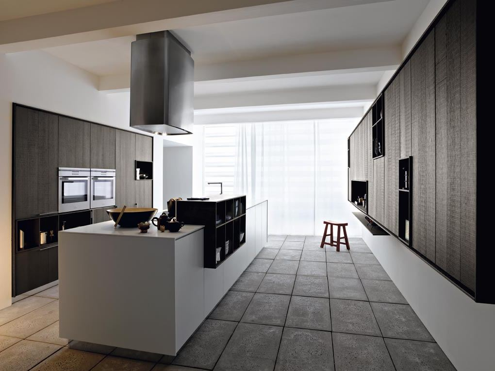 fitted kitchen with island kalea - composition 1 by cesar, Kuchen