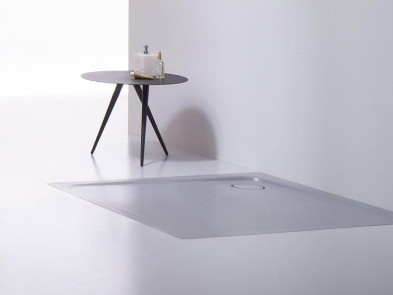 Piatto doccia filo pavimento superplan plus by kaldewei italia - Piatto doccia incassato nel pavimento ...