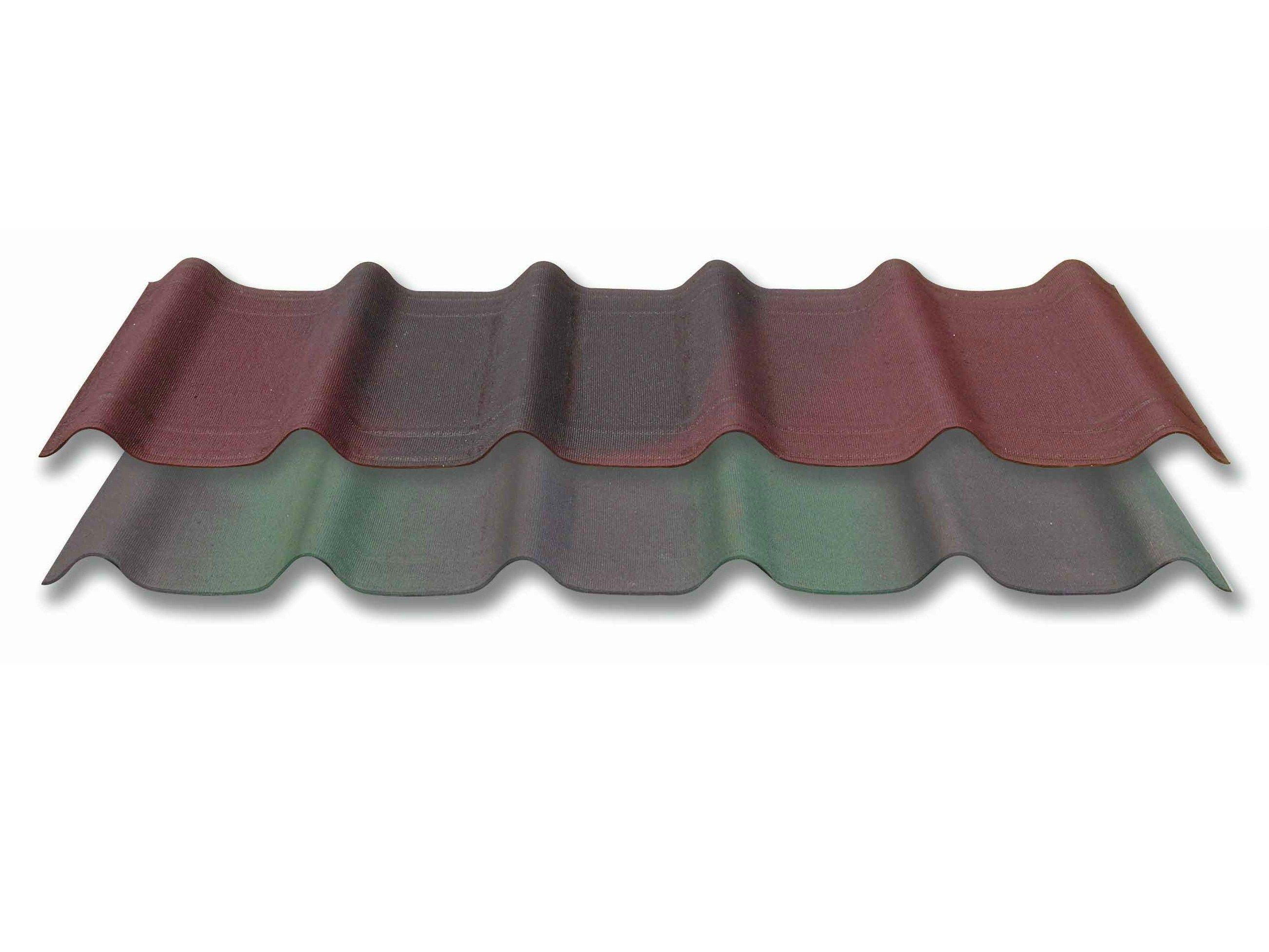 Tegole ondulate bitumate resinate e colorate con for Onduline rotolo