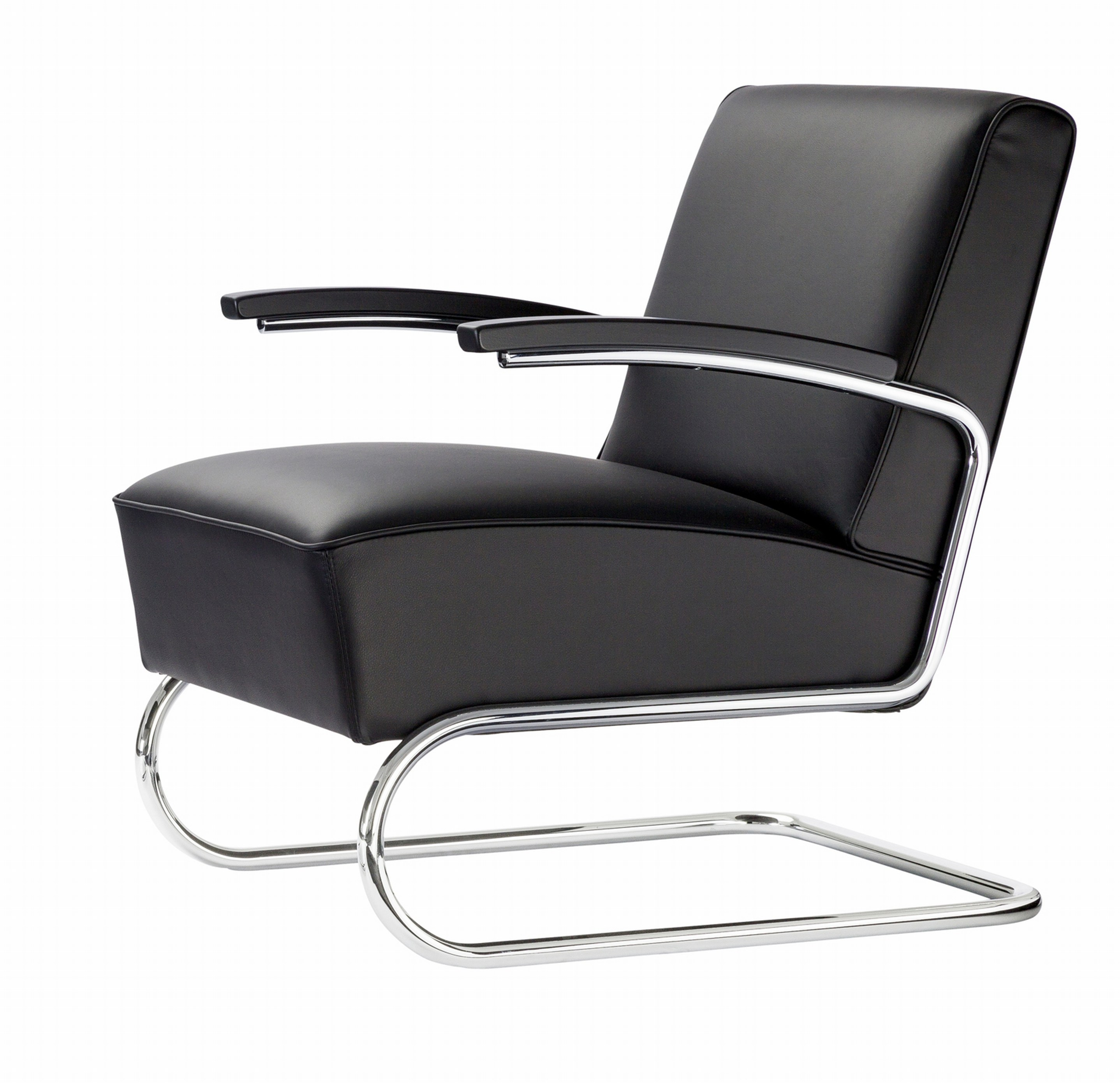 s411 cantilever armchair by thonet. Black Bedroom Furniture Sets. Home Design Ideas