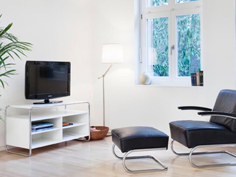 tv m bel aus stahl b106 by thonet. Black Bedroom Furniture Sets. Home Design Ideas