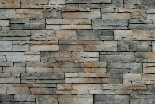 Revestimiento de pared imitaci n piedra scaglia asiago by for Piedra artificial para fachadas