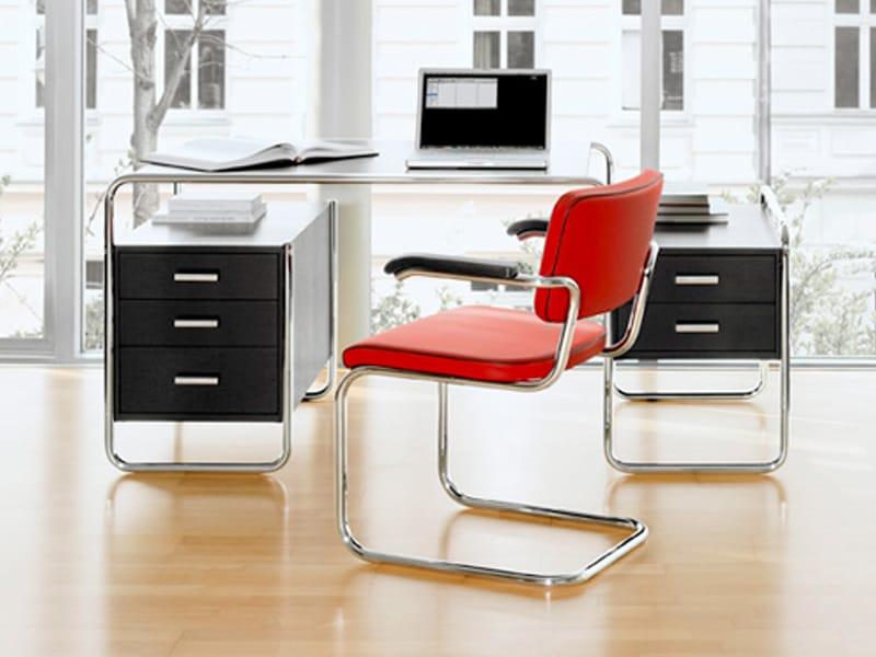 s285 schreibtisch by thonet design marcel breuer. Black Bedroom Furniture Sets. Home Design Ideas