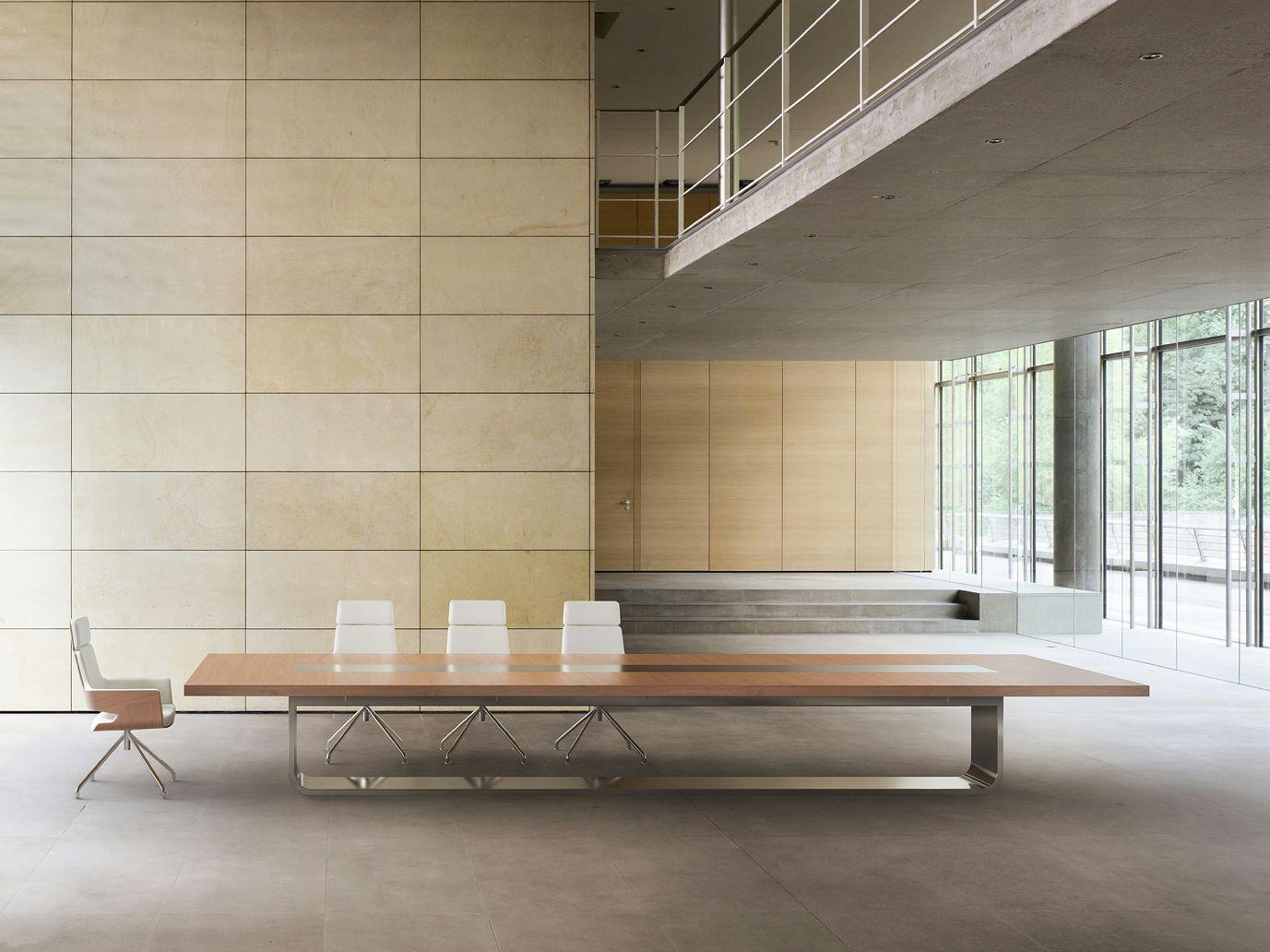 S8000 meeting table by thonet design hadi teherani for Table thonet