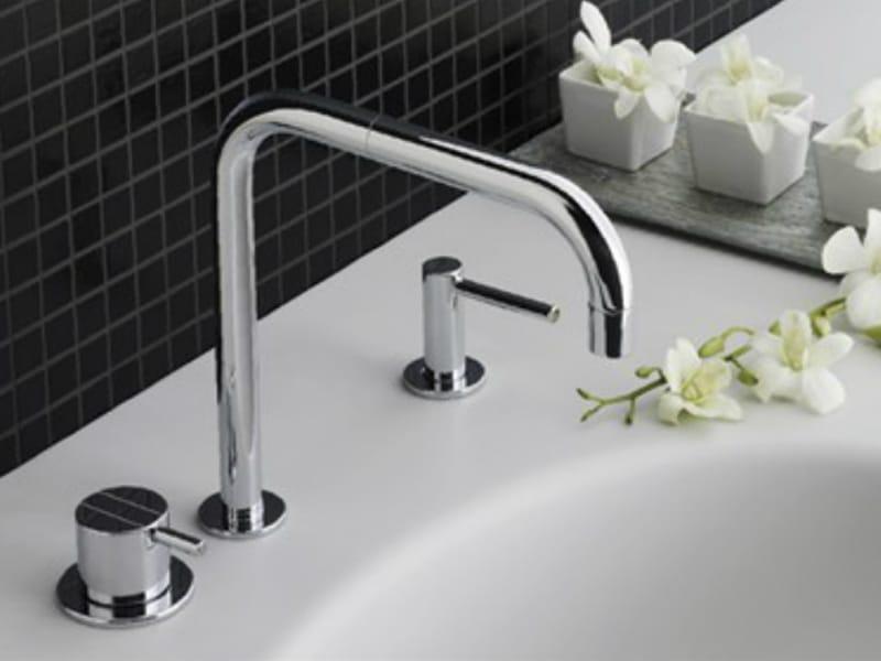 590t36 miscelatore per lavabo by vola. Black Bedroom Furniture Sets. Home Design Ideas