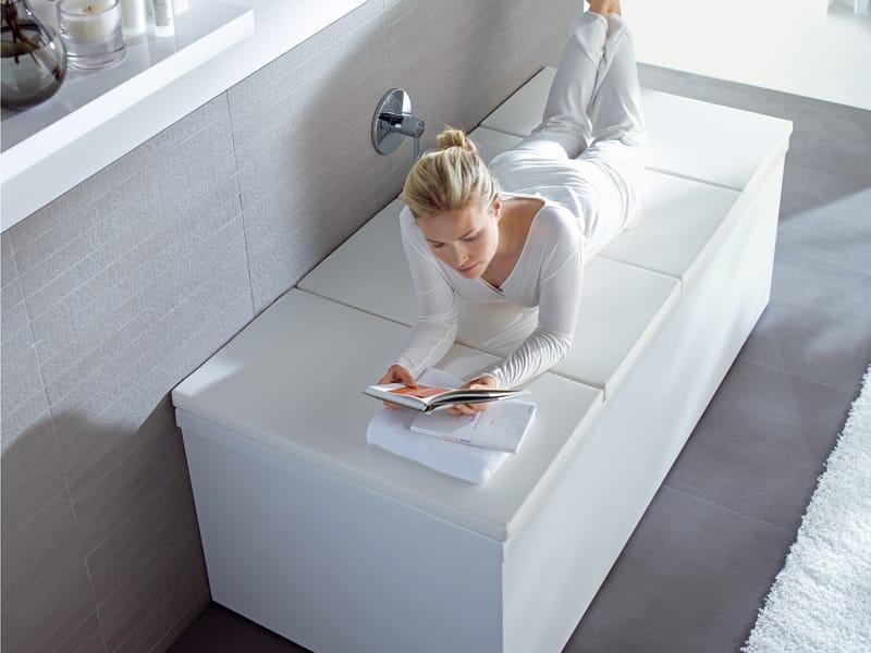 Coperture imbottite per vasca da bagno bathtub cover by duravit - Stucco per vasca da bagno ...