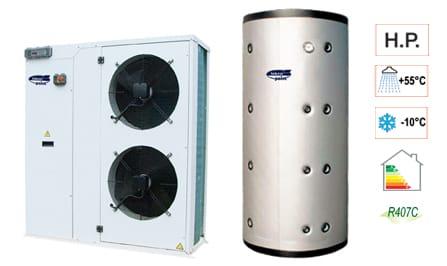 Pompa di calore aria acqua hidra lzh by tekno point italia for Costo pompa di calore aria acqua
