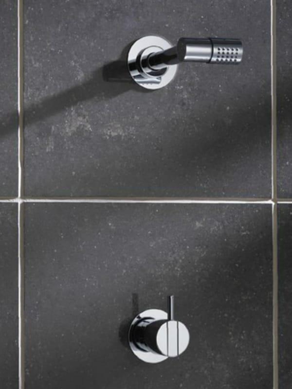 dusche mischbatterie mit kopfbrause 281 by vola. Black Bedroom Furniture Sets. Home Design Ideas