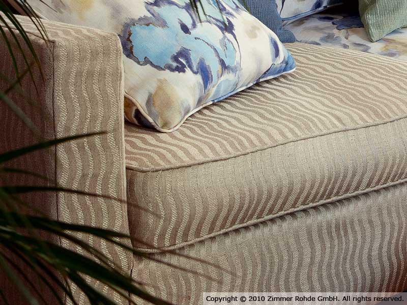 tessuto da tappezzeria in cotone marquises by zimmer rohde. Black Bedroom Furniture Sets. Home Design Ideas