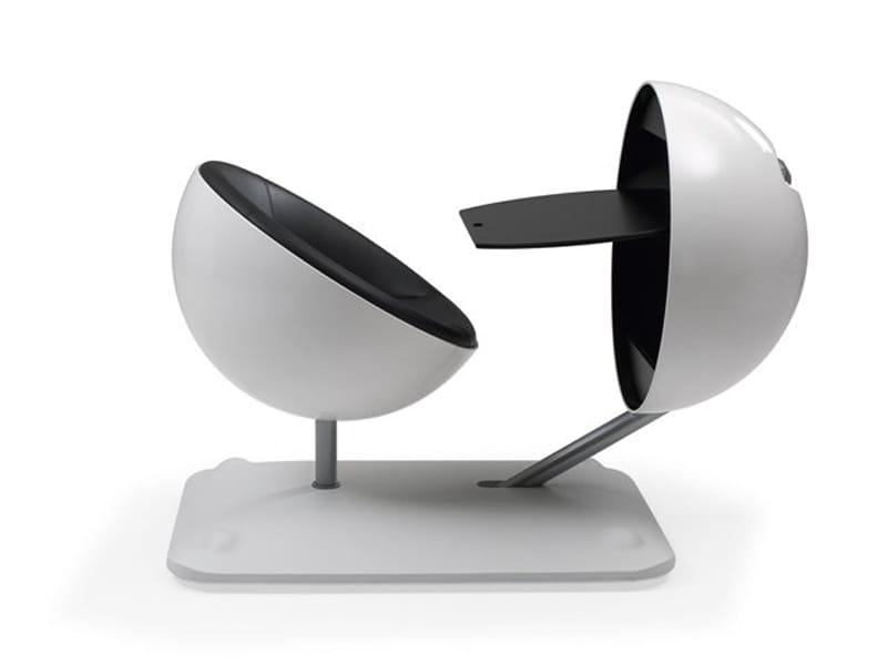 postazione di lavoro individuale globus by artifort. Black Bedroom Furniture Sets. Home Design Ideas