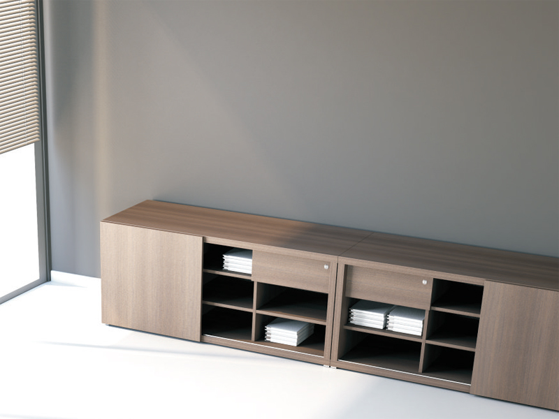 mito biblioth que de bureau basse by mdd design simone bernocchi. Black Bedroom Furniture Sets. Home Design Ideas