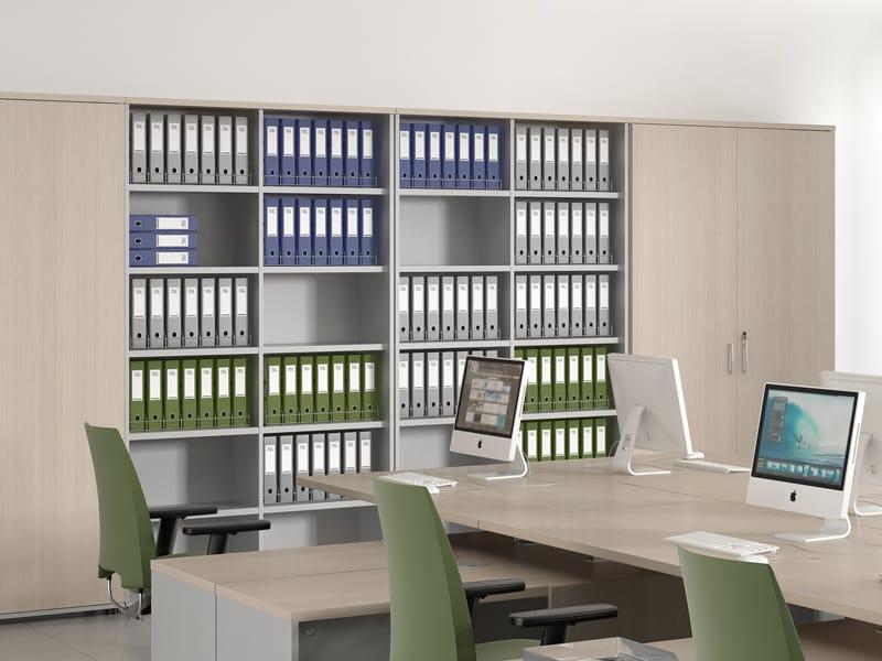freestanding office shelving standard office shelving mdd