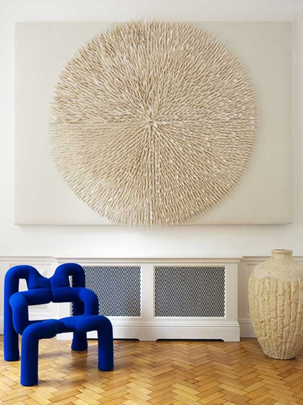Tulip Radial Wool Felt Decorative Acoustical Panels By