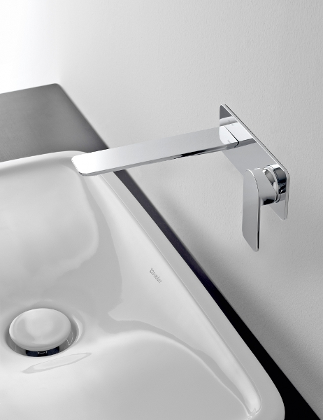 Sento grifo para lavabo de pared by graff europe west - Grifos de lavabo de diseno ...