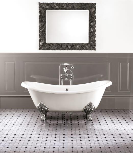 freistehende badewanne aus gusseisen chÉrie by devon&devon, Hause ideen