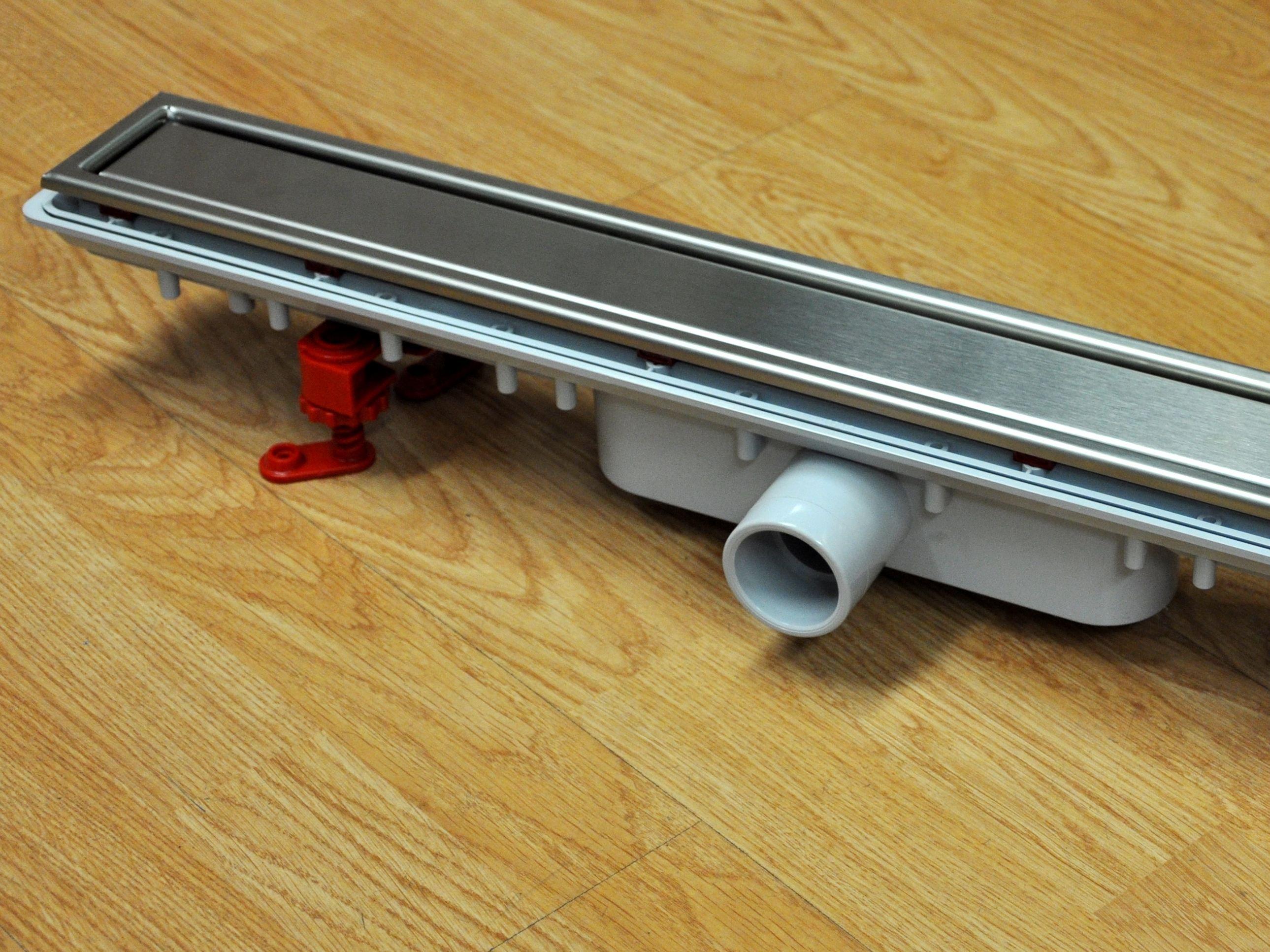 Canaletto larghezza 75mm con griglia in acciaio inox - Griglie per doccia ...