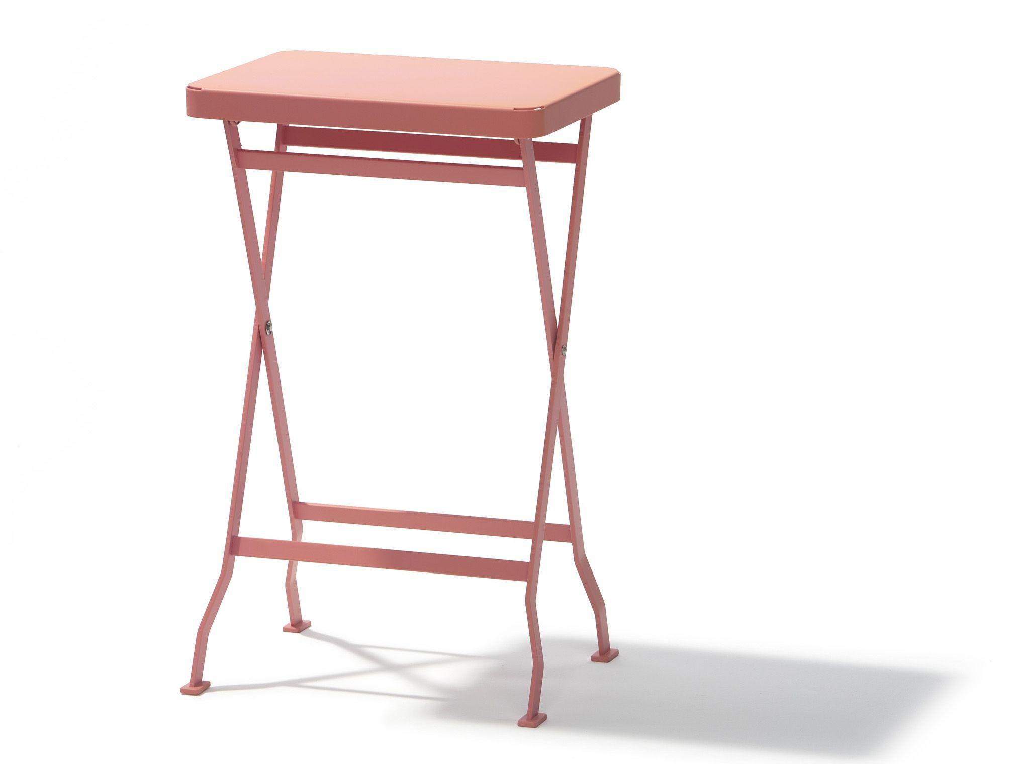 Table d 39 appoint de jardin pliante flip by richard lampert - Table d appoint pliante ...