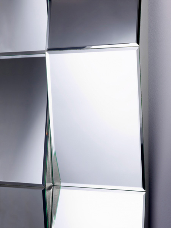 rectangular mirror zig zag by deknudt mirrors