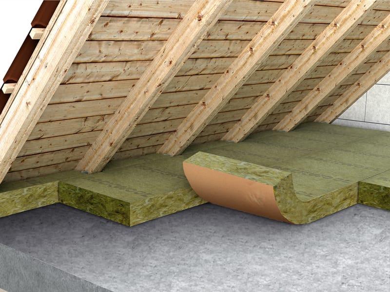 feutre thermique en laine de roche roulrock kraft 121 by. Black Bedroom Furniture Sets. Home Design Ideas