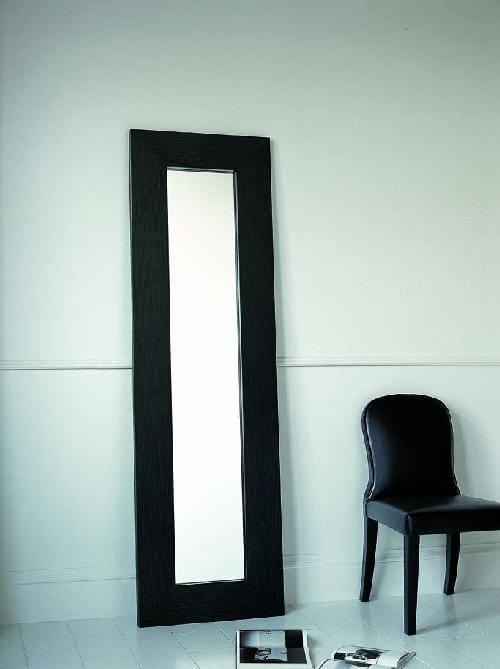 miroir sur pied rectangulaire avec cadre dorian by casamilano design marco boga. Black Bedroom Furniture Sets. Home Design Ideas
