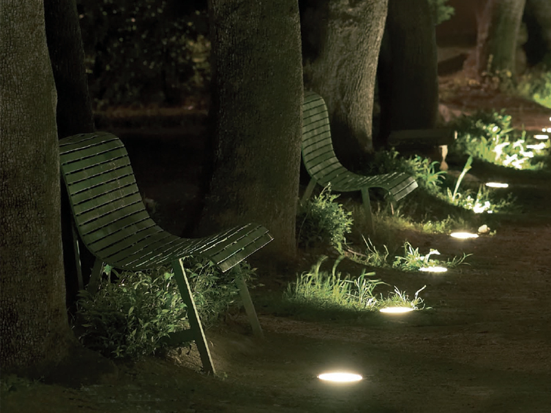 Illuminazione da incasso a pavimento 2600 ATLANTIQUE by Platek