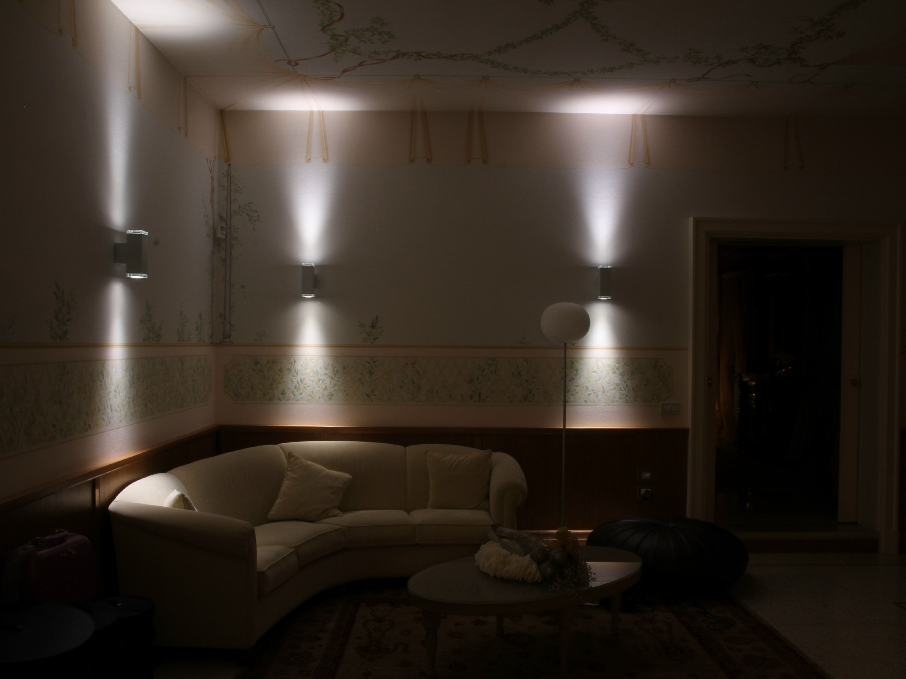 Wall Lamp Deco : WALL LAMP FOR PUBLIC AREAS TETRA DECO 140 TETRA COLLECTION BY PLATEK LIGHT