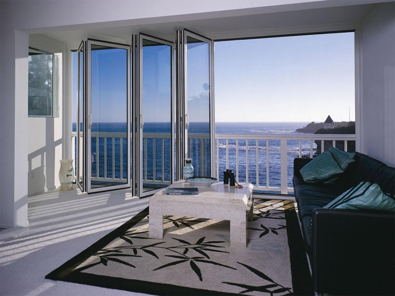 supertermica baie vitr e pliante by tender. Black Bedroom Furniture Sets. Home Design Ideas