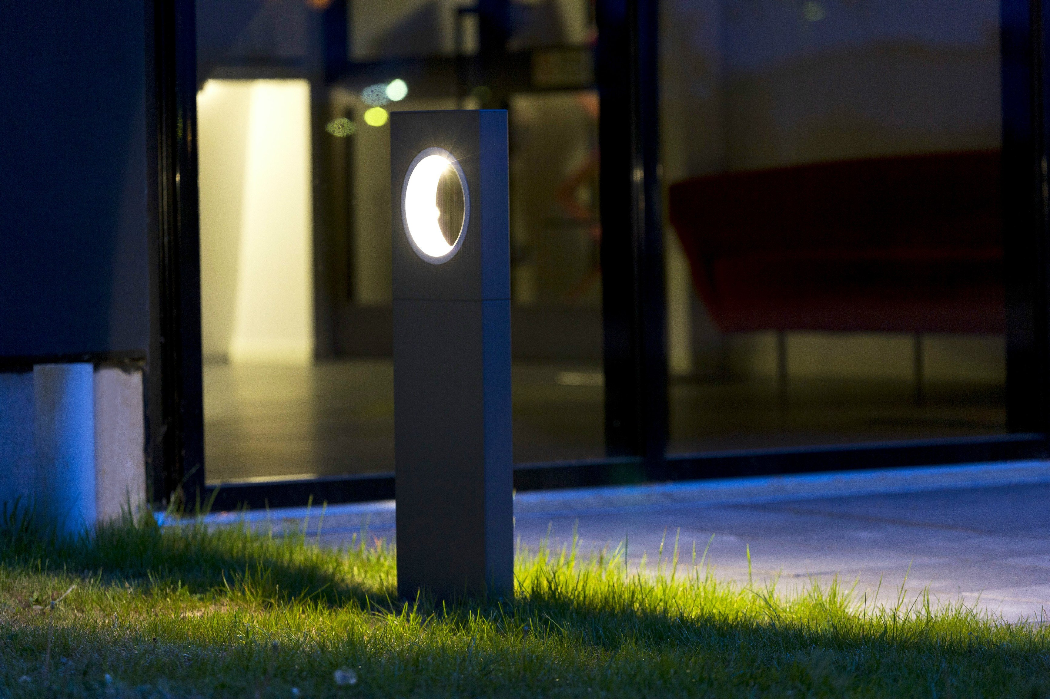 Led Garden Bollard Light Moon Collection By Platek