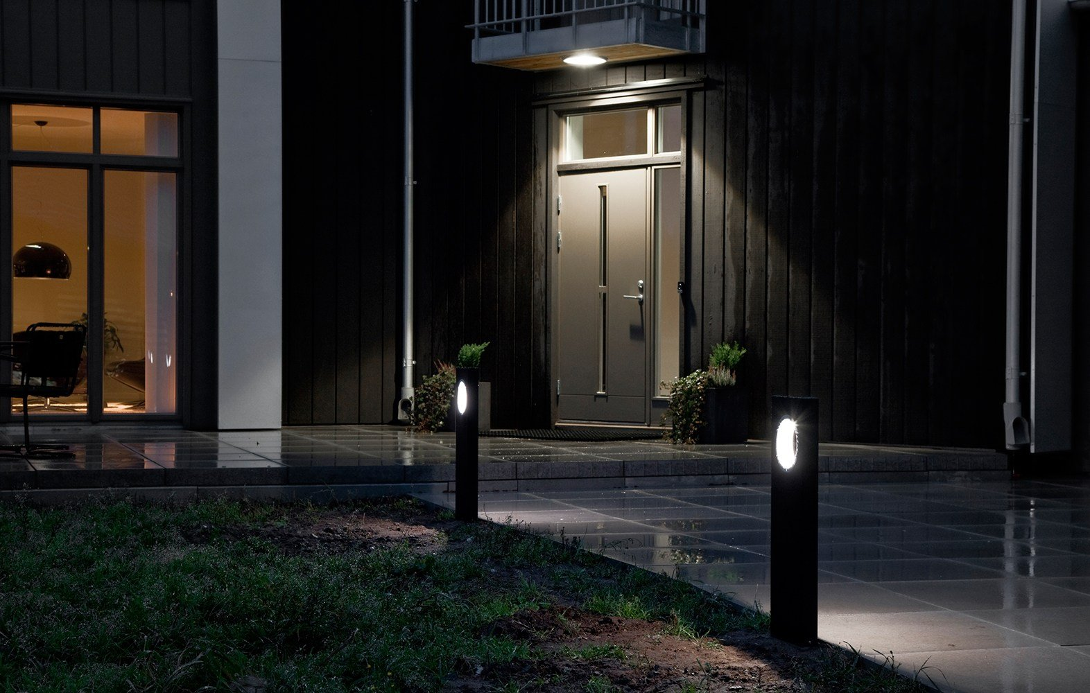 Moon Bollard Light By Platek Design Olle Lundberg