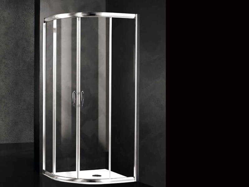 Box doccia in cristallo loft r2 collezione loft by relax - Box doccia relax ...