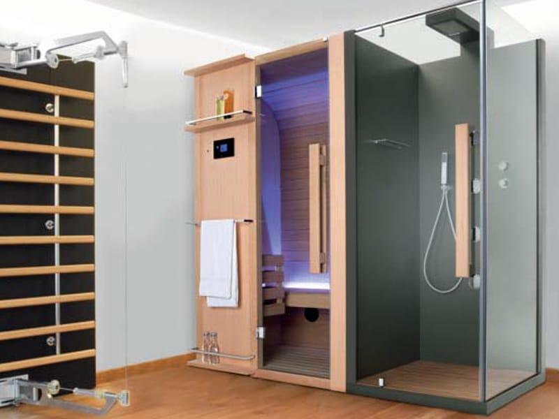 sauna mit dusche cuna doccia 207x205 by sauna vita. Black Bedroom Furniture Sets. Home Design Ideas
