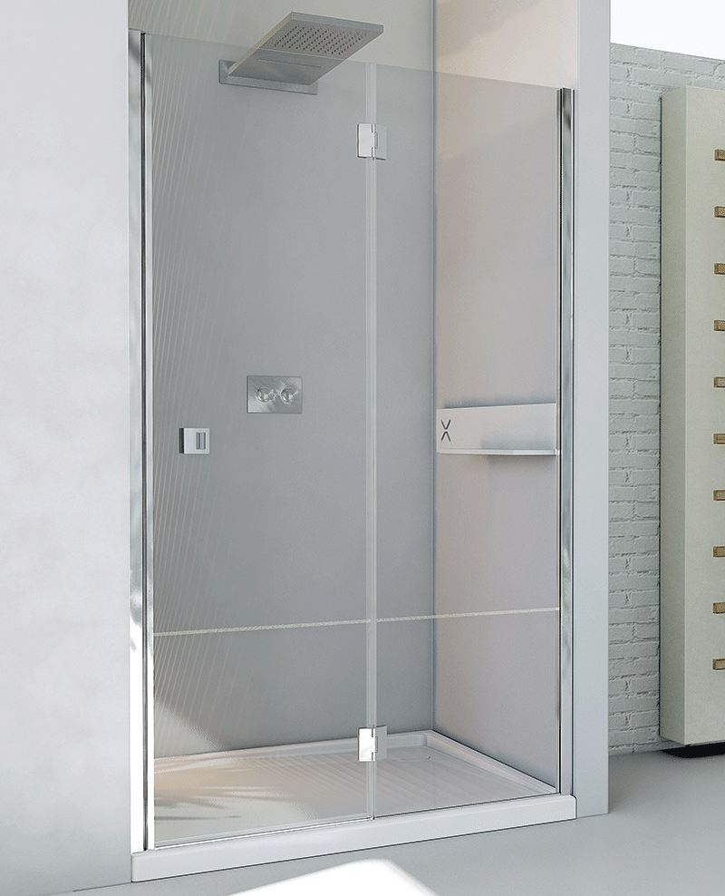 Porta per doccia in cristallo petrarca b1 by relax - Porta per doccia ...