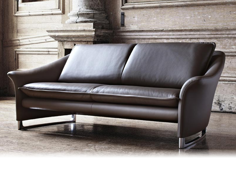 leather sofa enora roots collection by leolux design. Black Bedroom Furniture Sets. Home Design Ideas