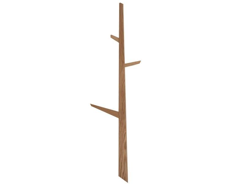 Wall Mounted Wooden Coat rack TREE by Ext design Studio 63