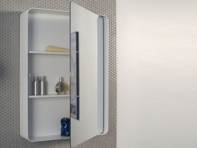 Excellent Bathroom Mirrors With Recessed Storage