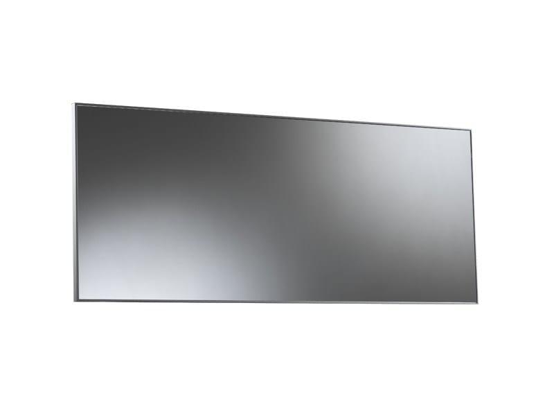 Miroir rectangulaire pour salle de bain miroir salle de for Grand miroir mural rectangulaire