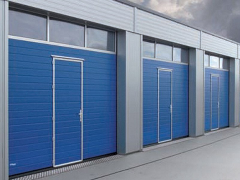 Porte industrielle sectionnelle thermo by novoferm schievano - Novoferm porte sectionnelle ...