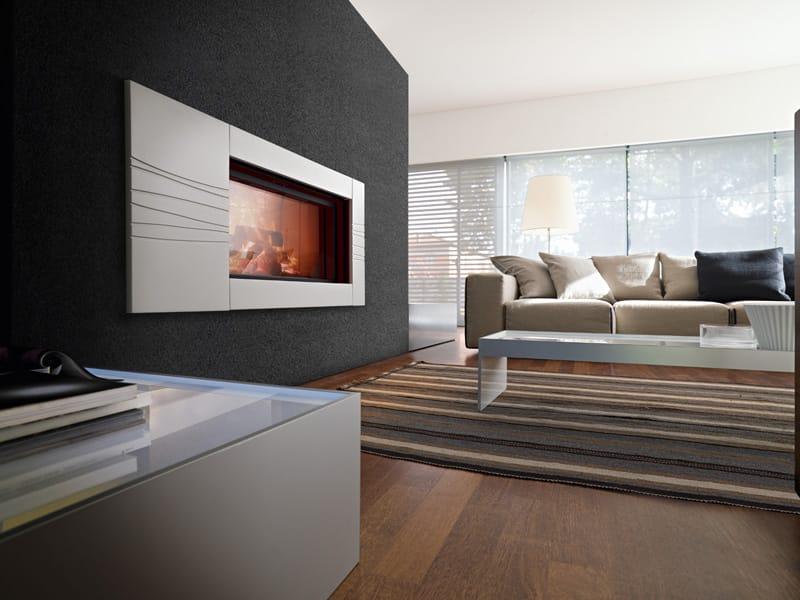 cadre de chemin e en c ramique monet by mcz group. Black Bedroom Furniture Sets. Home Design Ideas
