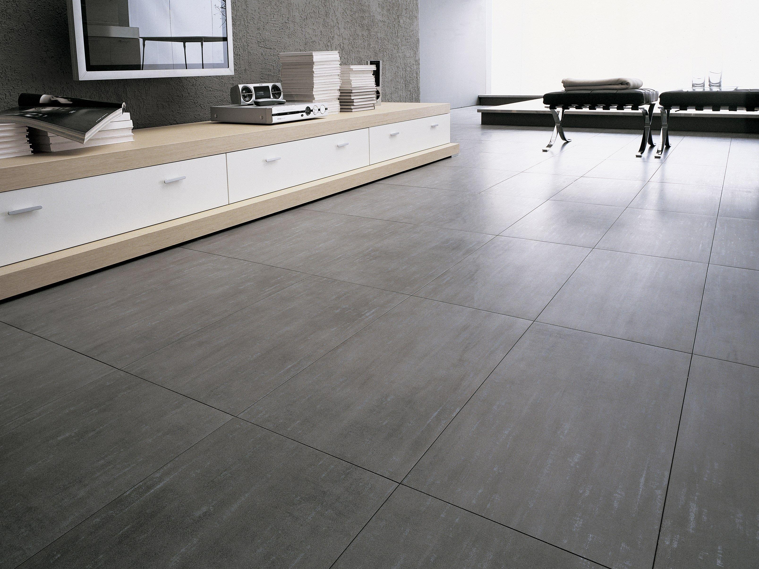 Pavimento rivestimento in gres porcellanato effetto metallo artech by ceramiche refin - Piastrelle in gres porcellanato per interni ...