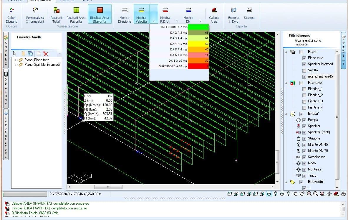 Progettazione impianto antincendio cpi win impianti by for Software di progettazione edilizia